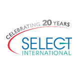 select international 20 years logo