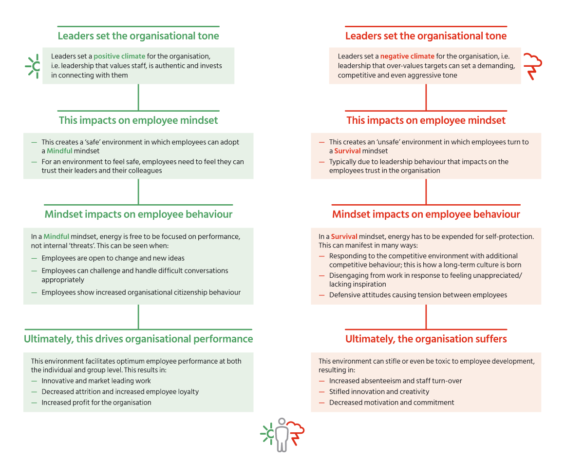 Leadership-Climate-flow-diagram
