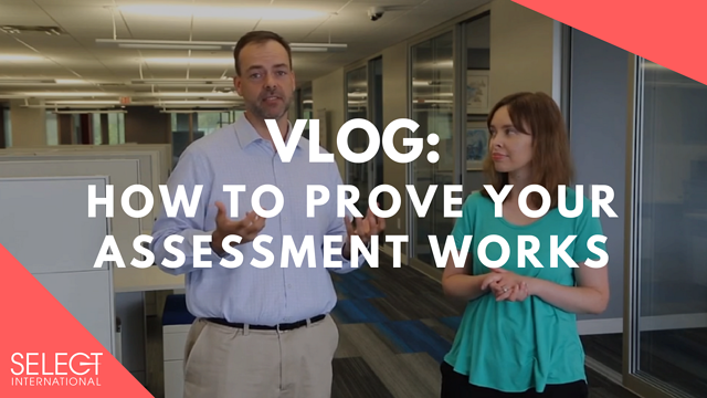 prove employee assessment works