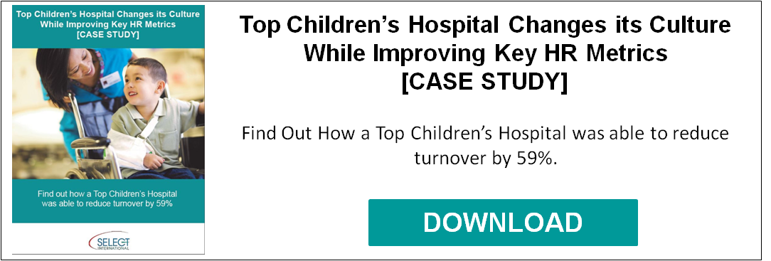 Top Children's Hospital Changes its Culture While Improving Key HR Metrics